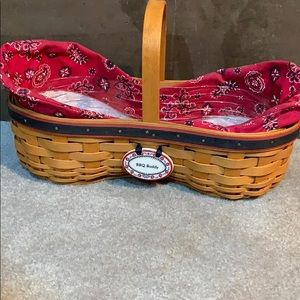 Longaberger  Barbecue Buddy Basket